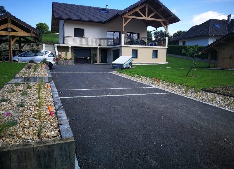 Rénovation d'un jardin à Poisy